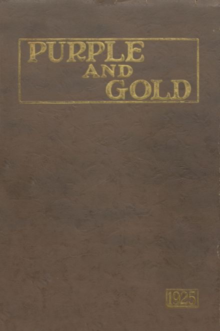 1925 South Haven L.C. Mohr High School Yearbook Cover