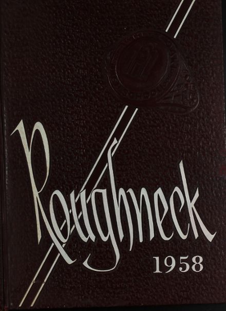 1958 White Oak High School Yearbook Cover