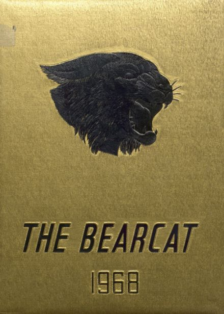 1968 Bentworth High School Yearbook Cover