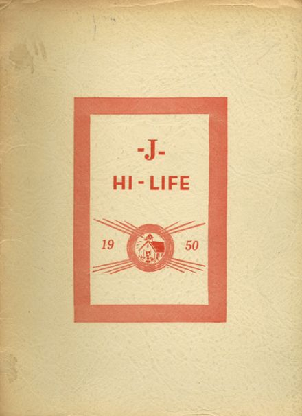 1950 Jefferson Area High School Yearbook Cover
