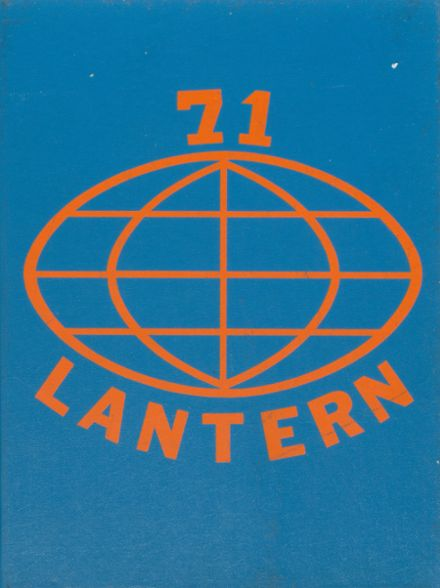 1971 Lutheran High School Yearbook Cover
