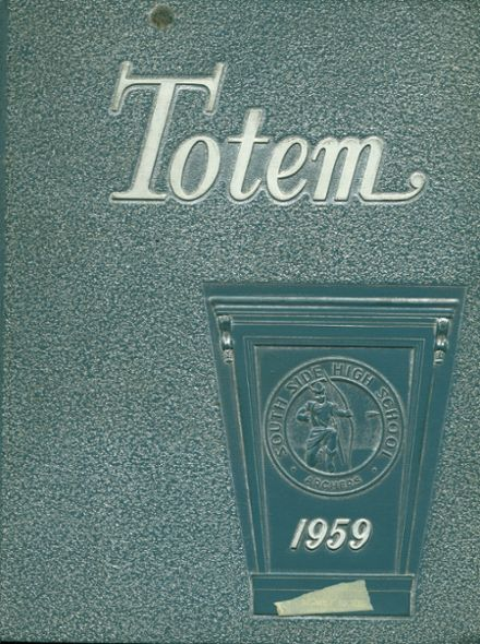 1959 South Side High School Yearbook Cover