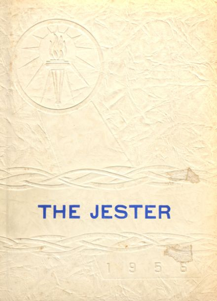 1956 New Harmony High School Yearbook Cover