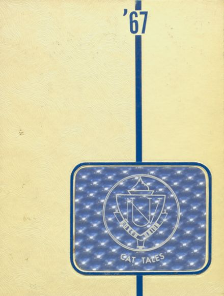 1967 North Union High School Yearbook Cover