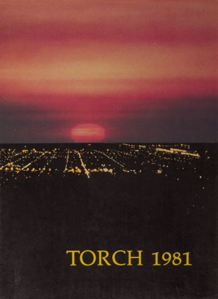 1981 Torrance High School Yearbook Cover