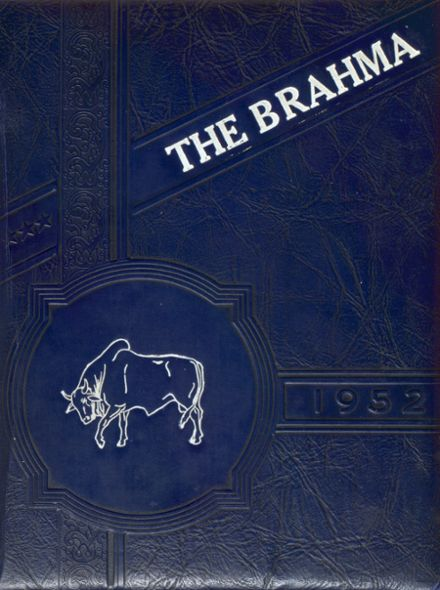 1952 Northeast High School Yearbook Cover