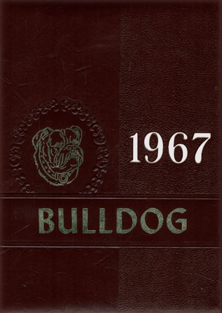 1967 Magnolia High School Yearbook Cover
