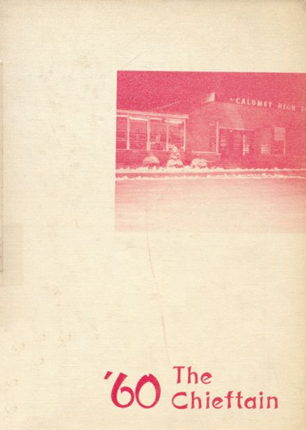 1960 Calumet High School Yearbook Cover