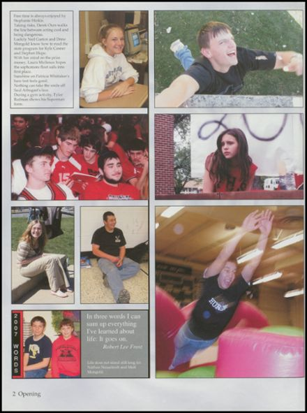 2007 Petersburg High School Yearbook Page 6