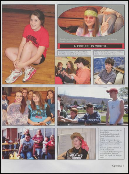 2007 Petersburg High School Yearbook Page 7