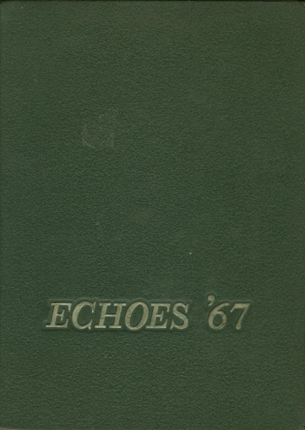 1967 Gahanna Lincoln High School Yearbook Cover