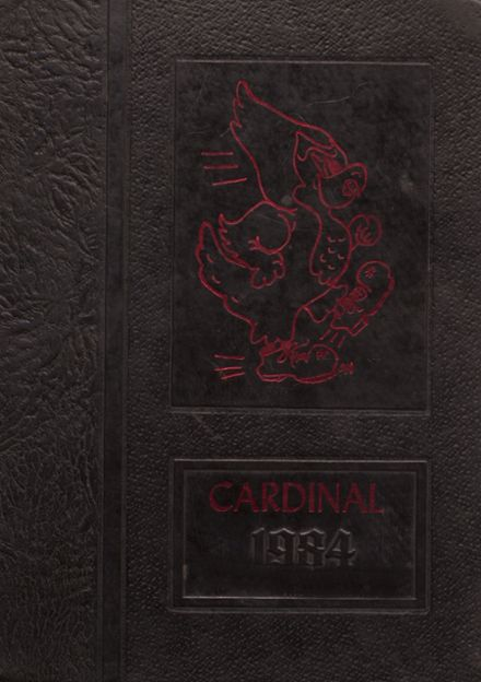 1984 Taylor County High School Yearbook Cover