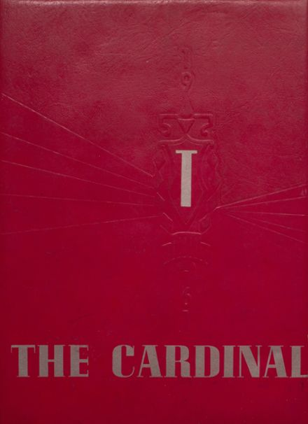 1961 Taylor County High School Yearbook Cover