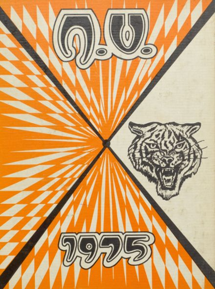 1975 North Union High School Yearbook Cover