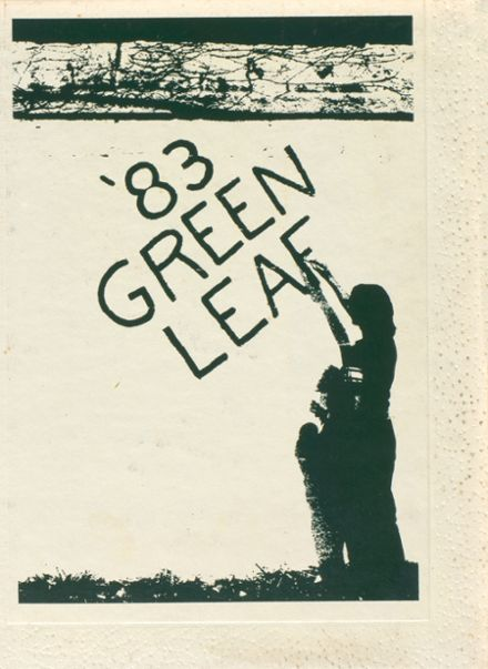 1983 Mt. Pleasant High School Yearbook Cover