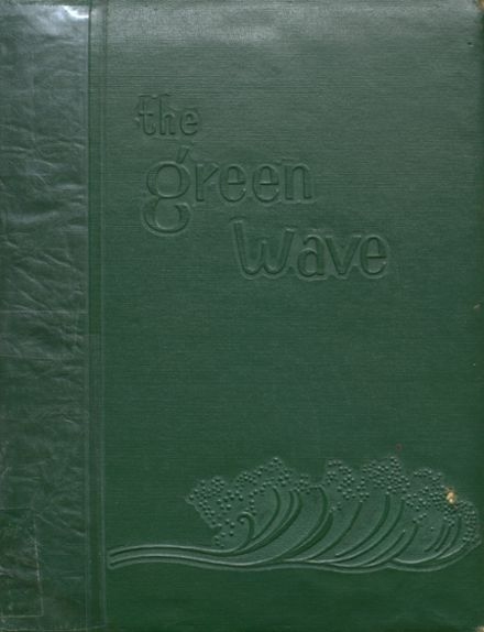 1957 Long Branch High School Yearbook Cover