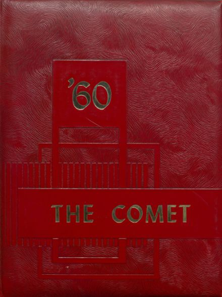 1960 Carlisle County High School Yearbook Cover