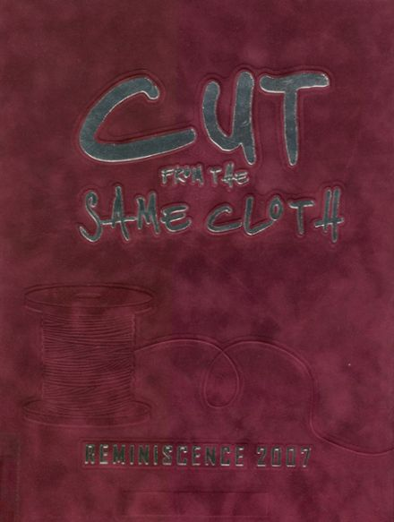 2007 Harrison High School Yearbook Cover