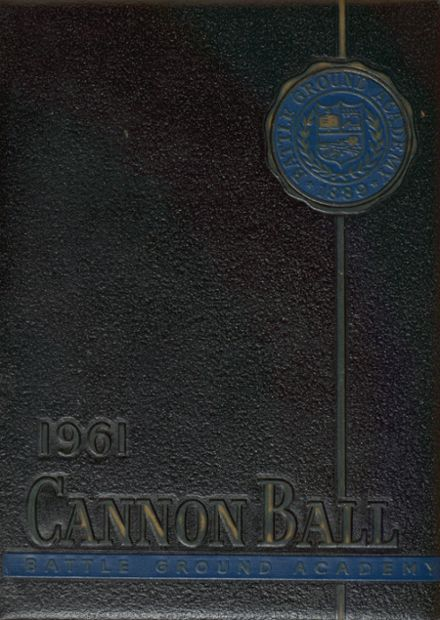 1961 Battle Ground Academy Yearbook Cover
