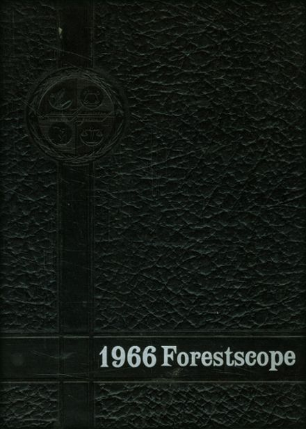 1966 Forest City High School Yearbook Cover