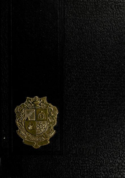 1971 North Georgia Tech High School Yearbook Cover