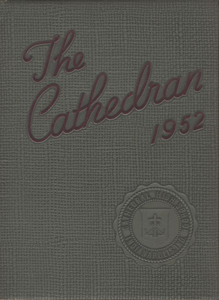 1952 Cathedral High School Yearbook Cover
