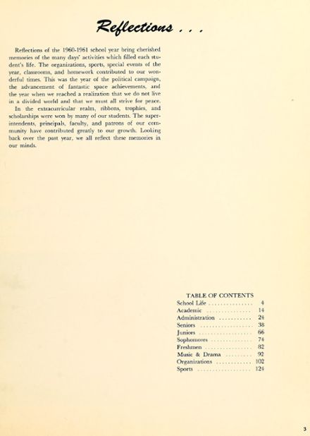 1961 New Haven High School Yearbook Page 7