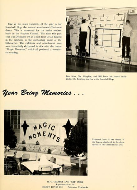 1961 New Haven High School Yearbook Page 9