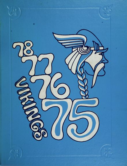 1975 Schafer High School Yearbook Cover