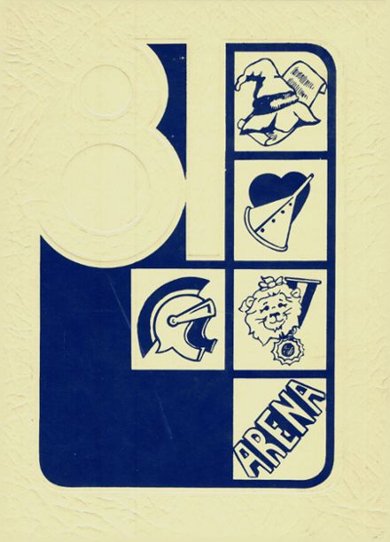 1981 East Rome High School Yearbook Cover