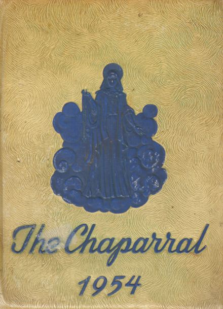 1954 Cathedral High School Yearbook Cover