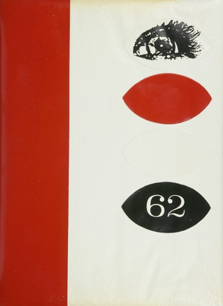 1962 Grover Cleveland High School Yearbook Cover
