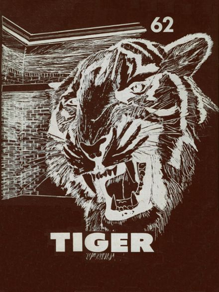 1962 Troup High School Yearbook Cover