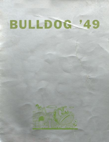 1949 Hi Plains High School Yearbook Cover