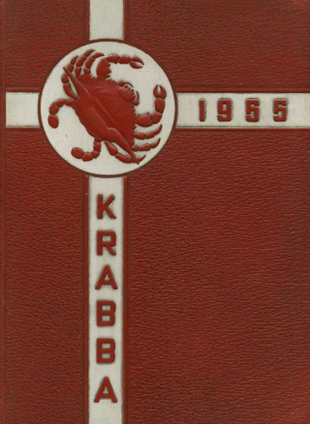 1955 Hampton High School Yearbook Cover