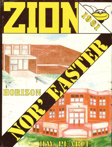 1981 Zion Benton Township High School Yearbook Cover