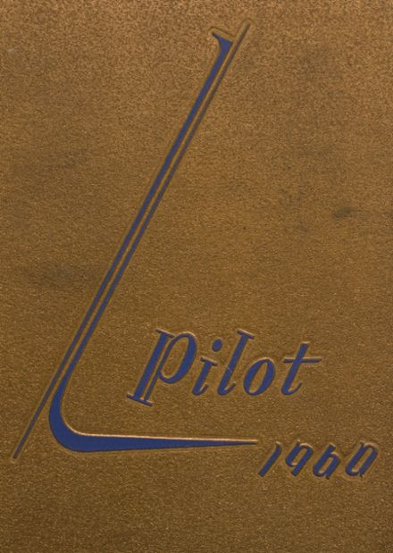1960 North Judson-San Pierre High School Yearbook Cover