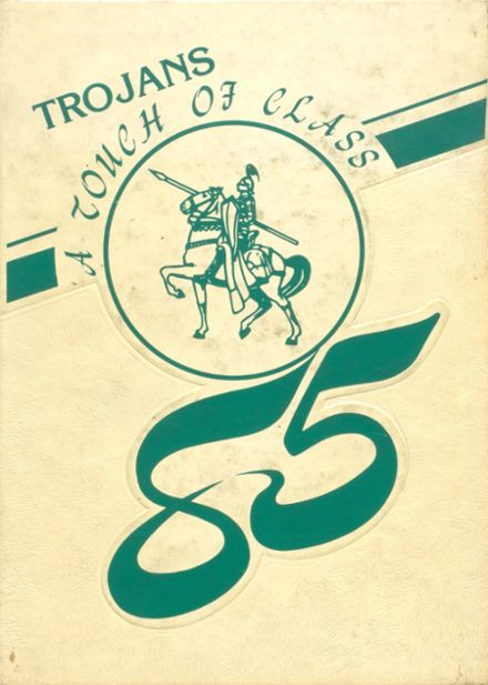 1985 Madison High School Yearbook Cover