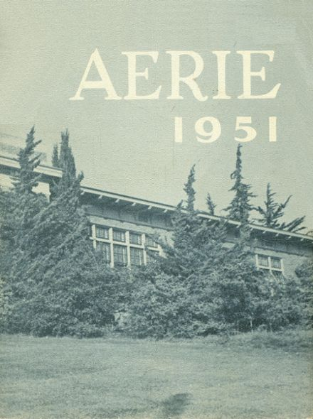 1951 Arroyo Grande High School Yearbook Cover
