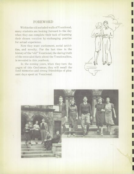 1938 Macomber Vocational High School Yearbook Page 8