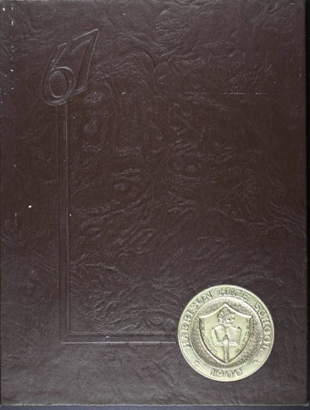 1967 Harrison High School Yearbook Cover