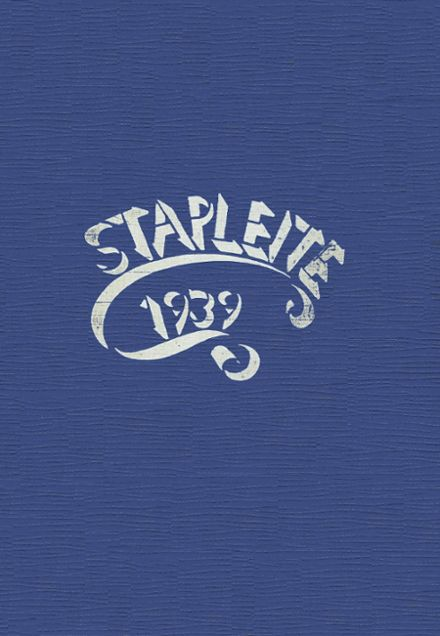 1939 Staples High School Yearbook Cover