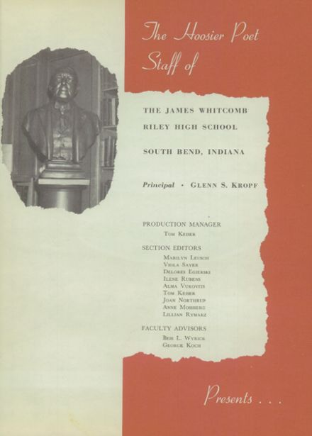 1947 James Whitcomb Riley High School Yearbook Page 5