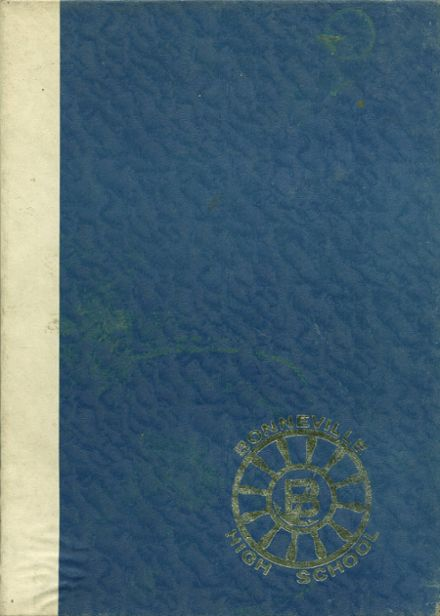 1965 Bonneville High School Yearbook Cover