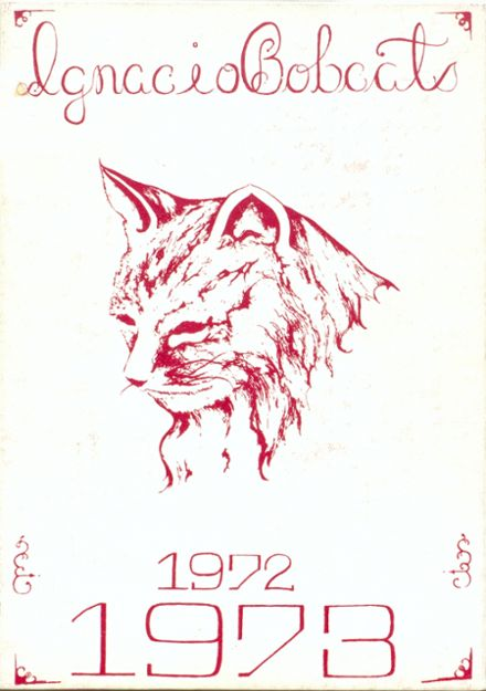 1973 Ignacio High School Yearbook Cover