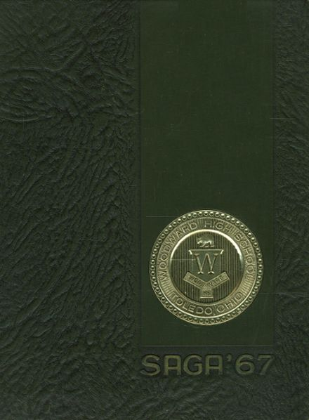 1967 Woodward High School Yearbook Cover