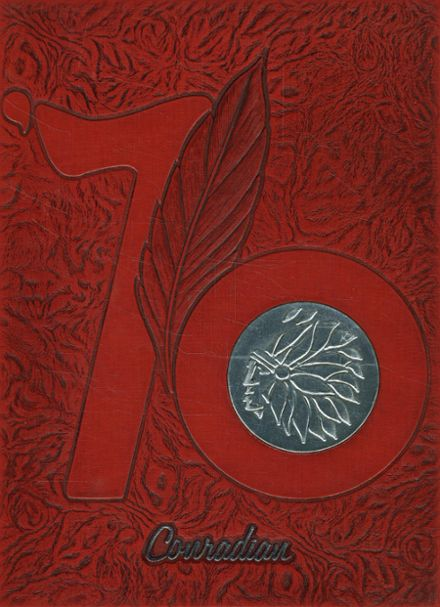 1976 Conrad High School Yearbook Cover