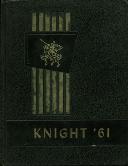 1961 Florida Military High School Yearbook Cover