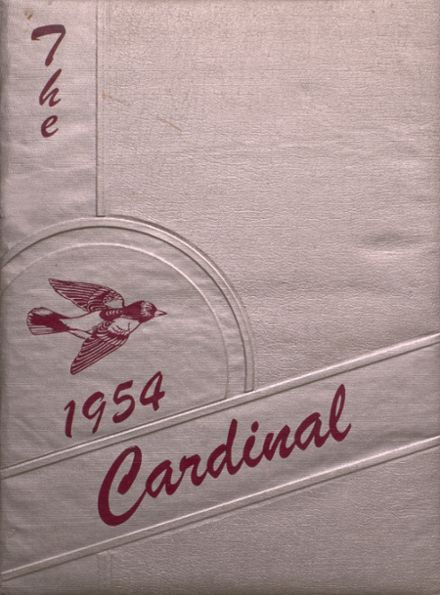 1954 Taylor County High School Yearbook Cover