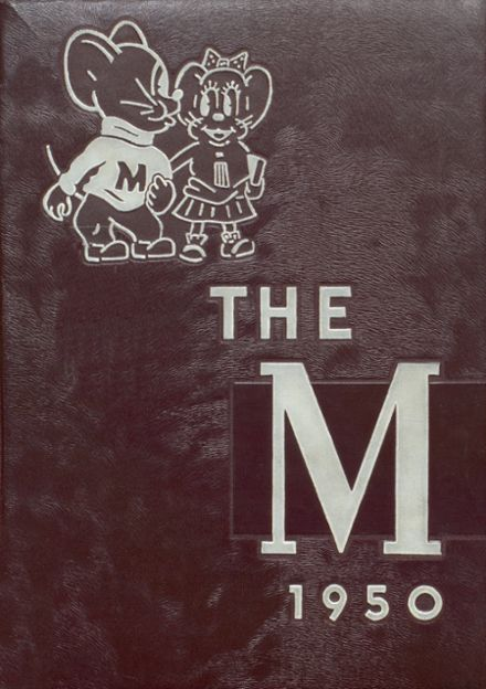 1950 Moline High School Yearbook Cover